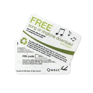 Seed Paper Credit Card
