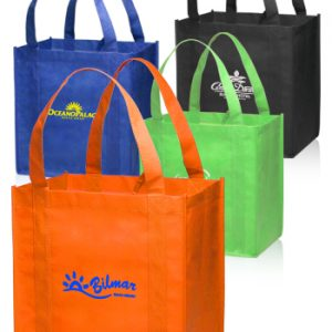 Small Non-Woven Grocery Tote Bags