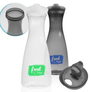 34 oz. Clear Plastic Carafes