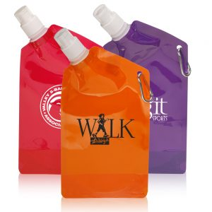27 oz. Collapsible Water Bottles
