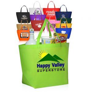 Budget Non Woven Shopper Tote Bags