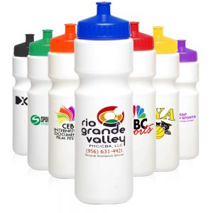 AWB28USA 28 oz. Plastic Water Bottles