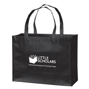 LN16612 Gloss Laminated Designer Tote Bag