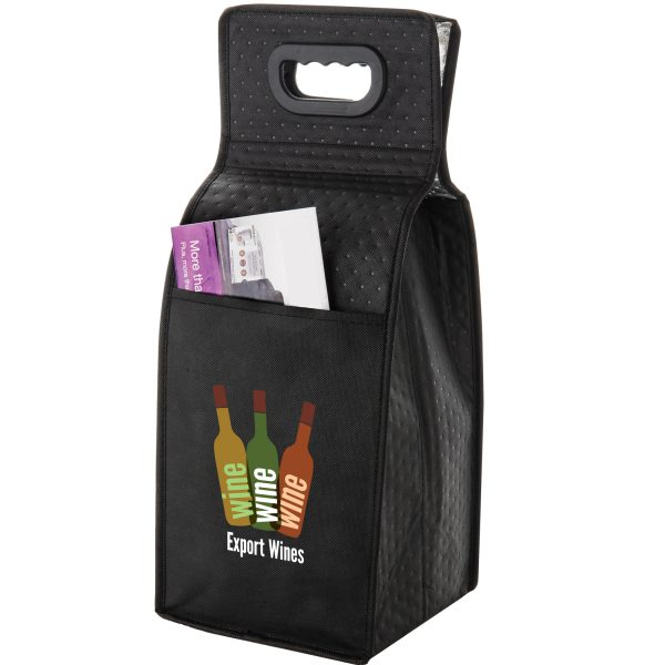 Four Bottle Insulated Wine Bag