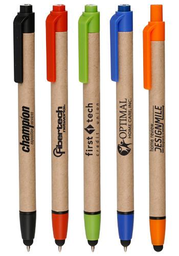 Recycled Ballpoint Stylus Pens