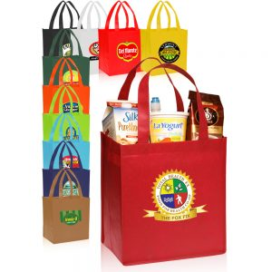 Value Non woven Grocery Tote Bags