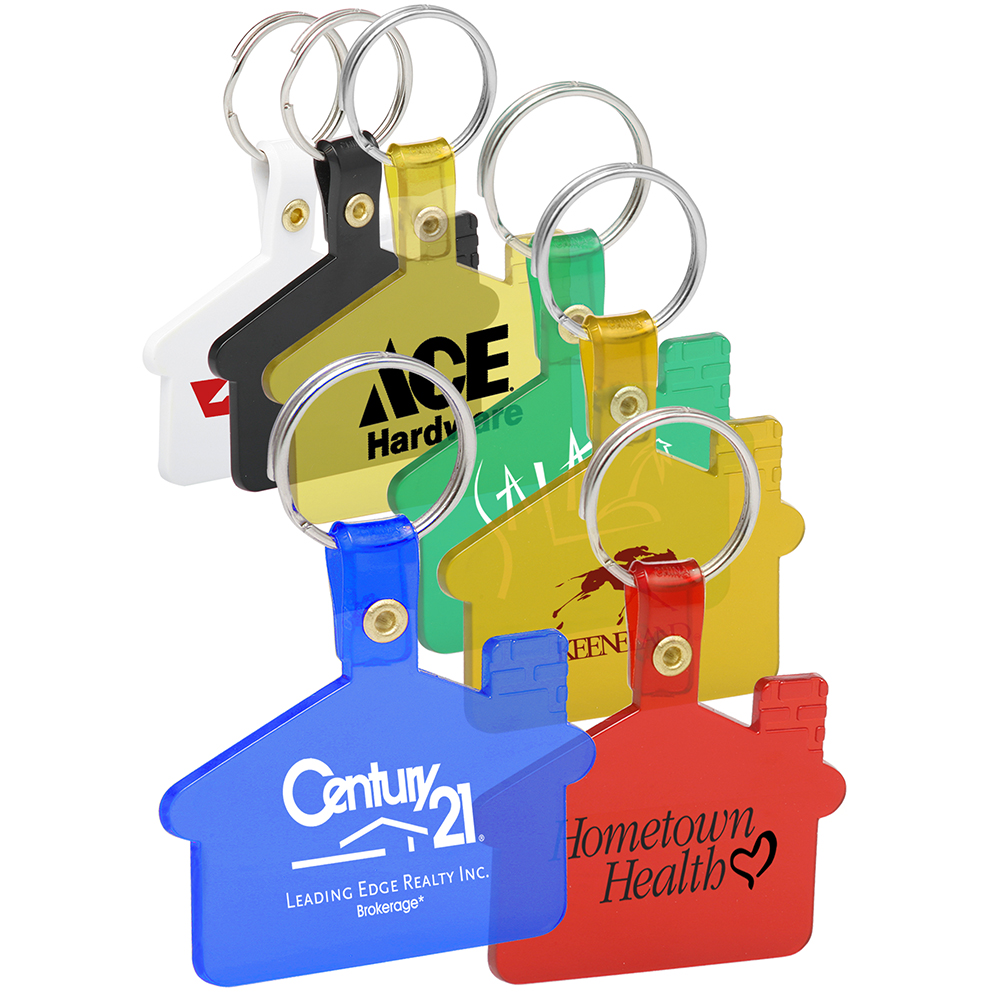 Akey110 house shaped soft key tags custom green promos akey110 house shaped soft key tags ccuart Images