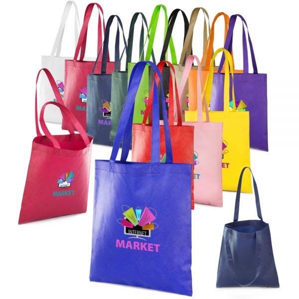 ATOT13 Popular Non Woven Reusable Tote Bags