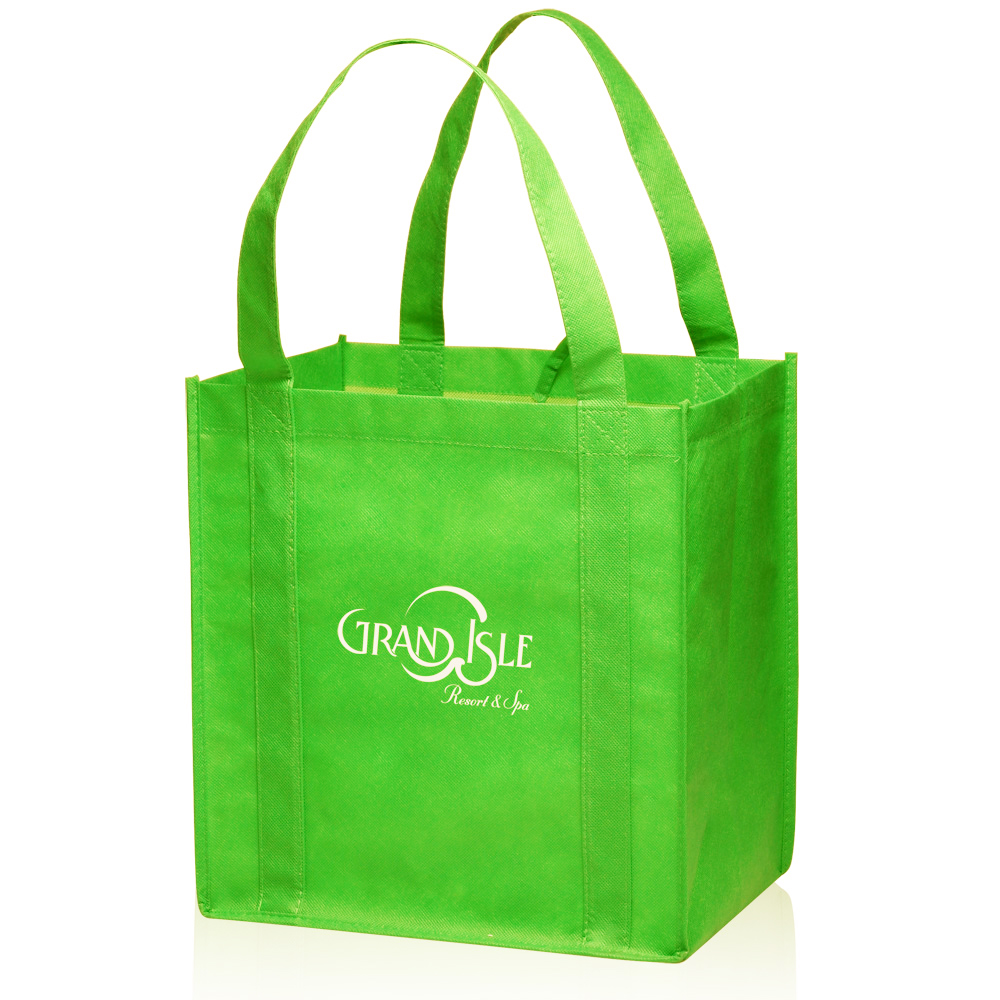 Atot33 Small Non Woven Grocery Tote Bags