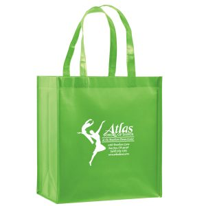 Gloss Laminated Designer Grocery Tote Bag