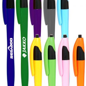 Accent Click Action Pens