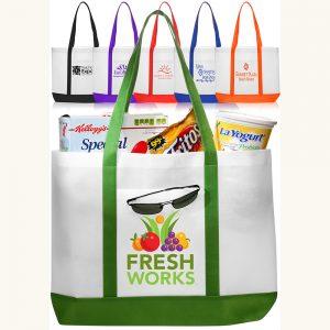 Trim Color Non Woven Tote Bags