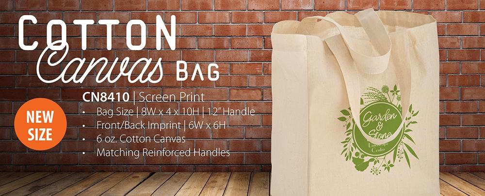 Reusable Cotton Canvas Tote Bags