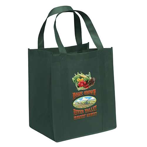 Reusable Green Grocery Bags Wholesale
