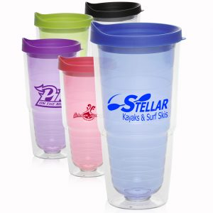 24 oz Double Wall Orbit Acrylic Tumblers APG154