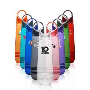 23.5 oz Tear Drop Plastic Water Bottles AWB295