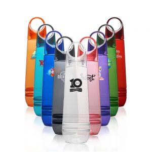 23.5 oz Tear Drop Plastic Water Bottles AWB295