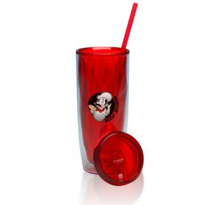 18 oz Acrylic Tumblers with Straw APG226
