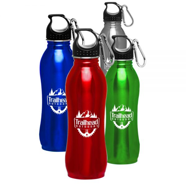 25 oz Stainless Steel Sports Water Bottles ASB216