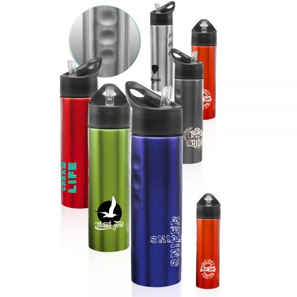 25 oz Slim Stainless Steel Water Bottles ASB135