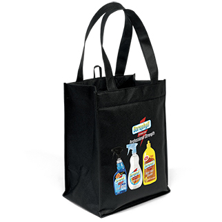 Recycled Grocery Wine Tote Bags