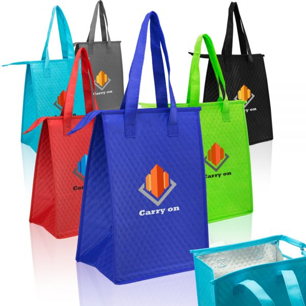 Zipper Insulated Lunch Tote Bags ATOT244