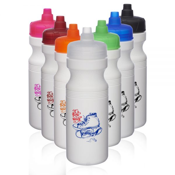 20 oz Plastic Water Bottles with Quick Shot Lid AWB2064