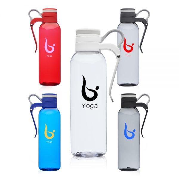 24 oz Biking Plastic Water Bottles with Handle AWB339