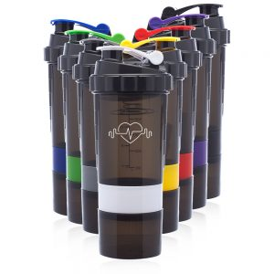 17 oz Smart Compartment Shaker Bottles ASHB09