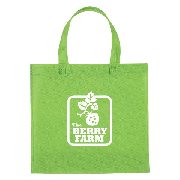 3323 NON-WOVEN MINI BROCHURE TOTE BAG
