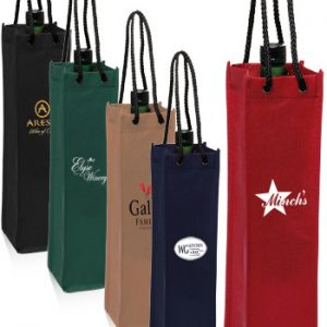 Non-Woven Single Wine Bottle Bags ATOT117