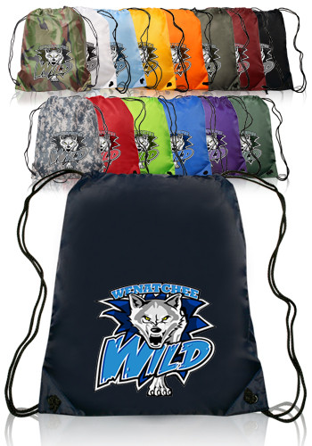 Classic Polyester Drawstring Backpacks ABPK10