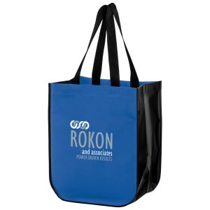 LL12815-Screen Print Matte Laminated Designer Tote Bag